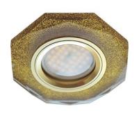 Ecola MR16 DL1652 GU5.3 Glass Стекло 8-угольник с прямыми гранями Золотой блеск / Золото 25x90 Истра