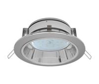 Встраиваемый потолочныйсветильник-спот Ecola GX53 H2R.C рефлектором. Цвет - Хром. Истра