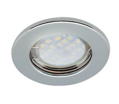 Светильник Ecola Light MR16 DL90 встраиваемый плоский Хром 30x80 - 2 pack Истра