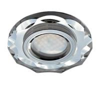 Ecola MR16 DL1653 GU5.3 Glass Стекло Круг с вогнутыми гранями Хром / Хром 25x90 Истра
