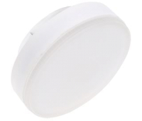 Ecola Light GX53 LED 11,5W Tablet 220V 6400K 27x75 матовое стекло (композит) 30000h Истра
