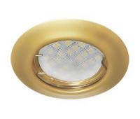 Ecola Light MR16 DL92 GU5.3 Светильник встр. выпуклый Перламутровое золото 30x80 Истра