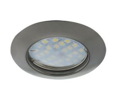 Светильник Ecola Light MR16 DL92 GU5.3 встр. выпуклый Черный Хром 30x80 Истра