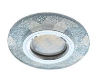 Ecola MR16 DL1654 GU5.3 Glass Стекло Круг граненый Серебряный блеск / Хром 25x90 Истра