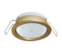 Ecola GX53 PD Светильник Встраиваемый глубокий легкий Золото 31x95 Истра