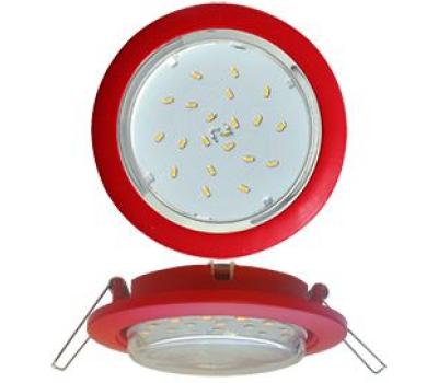 Ecola GX53 5355 Встраиваемый Легкий Красный (светильник) 25x106 Истра