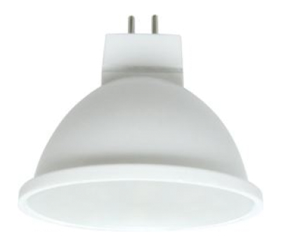 Ecola MR16   LED  5.4W  220V GU5.3 2800K матовое стекло (композит) 48x50 Истра