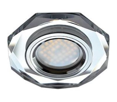 Ecola MR16 DL1652 GU5.3 Glass Стекло 8-угольник с прямыми гранями Хром / Хром 25x90 Истра