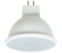Ecola Light MR16   LED  7,0W  220V GU5.3 4200K матовое стекло (композит) 48x50 (1 из ч/б уп. по 4) Истра
