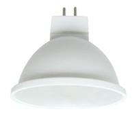 Ecola MR16   LED  5.4W  220V GU5.3 4200K матовое стекло (композит) 48x50 Истра