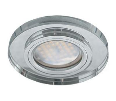 Ecola MR16 DL1650 GU5.3 Glass Стекло Круг Хром / Хром 25x95 Истра