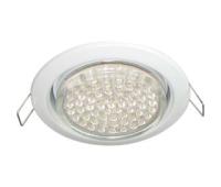 Ecola GX53 H4 светильник встраив. без рефл. white 38х106 - 2 pack Истра
