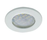 Светильник Ecola Light MR16 DL90 встраиваемый плоский Белый 30x80 - 2 pack Истра