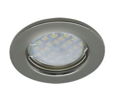 Светильник Ecola Light MR16 DL90 GU5.3 встр. плоский Черный Хром 30x80 Истра