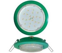 Ecola GX53 5355 Встраиваемый Легкий Зеленый (светильник) 25x106 Истра
