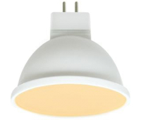 Ecola MR16   LED Premium  8,0W  220V GU5.3 золотистая матовое стекло (композит) 48x50 Истра