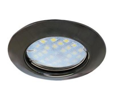 Светильник Ecola Light MR16 DL92 встраиваемый выпуклый  Черный Хром 30x80 - 2 pack Истра