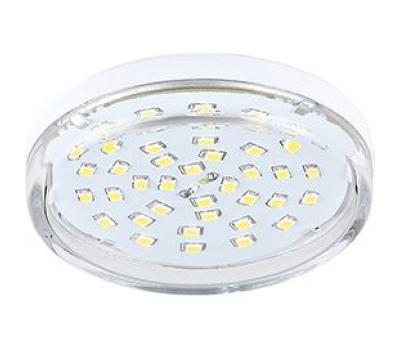 НОВИНКА! Ecola Light GX53 LED  8,0W Tablet 220V 2800K 27x75 прозрачное стекло 30000h Истра