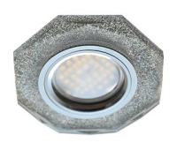 Ecola MR16 DL1652 GU5.3 Glass Стекло 8-угольник с прямыми гранями Серебряный блеск / Хром 25x90 Истра