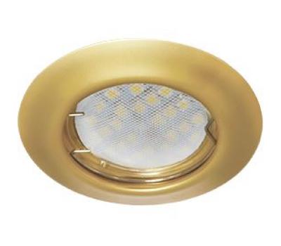 Светильник Ecola Light MR16 DL92 встраиваемый выпуклый Перламутровое Золото 30x80 - 2 pack Истра