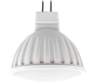 Ecola MR16   LED  8,0W  220V GU5.3 2800K матовое стекло (композит) 51x50 Истра