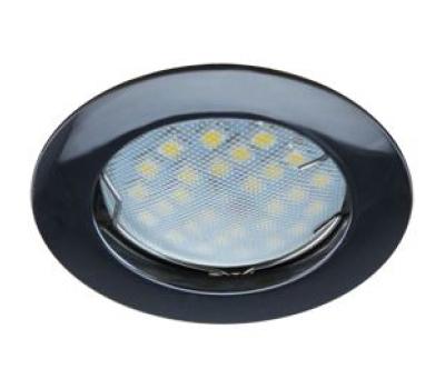 НОВИНКА!Светильник Ecola MR16 DL100 GU5.3 встр. литой Чёрный хром 24х75 Истра