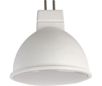 Ecola Light MR16   LED  5,0W 220V GU5.3 2800K матовое стекло (композит) 48x50 Истра