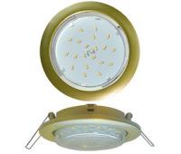 Ecola GX53 5355 Встраиваемый Легкий Золото (светильник) 25x106 Истра