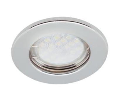 Светильник Ecola Light MR16 DL90 GU5.3 встр. плоский Хром 30x80 Истра