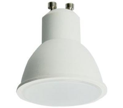 Ecola Reflector GU10  LED  8,0W  220V 2800K матовое стекло (композит) 57x50 Истра