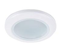 Ecola MR16 DL80 GU5.3 светильник встр. влагозащищенный IP65 белый 32x93 Истра