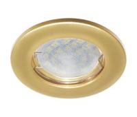Светильник Ecola Light MR16 DL90 встраиваемый плоский Перламутровое золото 30x80 - 2 pack Истра