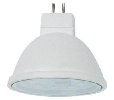 Ecola MR16   LED  5.4W 220V GU5.3  4200K прозрачное стекло (композит) 48x50 Истра
