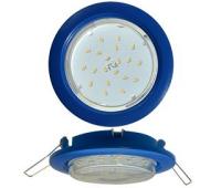 Ecola GX53 5355 Встраиваемый Легкий Синий (светильник) 25x106 Истра