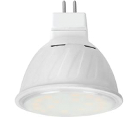 Ecola MR16   LED 10.0W  220V GU5.3 2800K прозрачное стекло (композит) 51x50 Истра