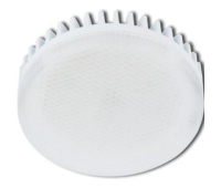 Лампа Ecola GX53 LED Premium 8.5W Tablet 220V 4200K матовое стекло (ребристый алюм. радиатор) 27x75 Истра