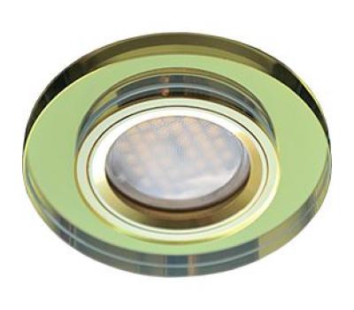 Ecola MR16 DL1650 GU5.3 Glass Стекло Круг Золото / Золото 25x95 Истра