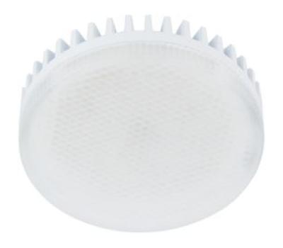 Лампа Еcola GX53   LED 10.0W Tablet 220V 6000K матовое стекло (ребристый алюм. радиатор) 27x75 Истра