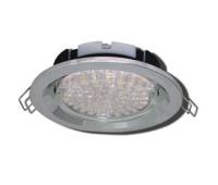 Ecola GX53 FT3225 светильник встраиваемый глубокий лёгкий хром 27x109 Истра