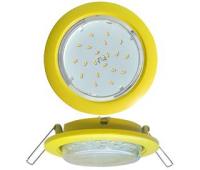 Ecola GX53 5355 Встраиваемый Легкий Желтый (светильник) 25x106 Истра
