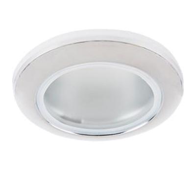 Ecola MR16 DL80 GU5.3 светильник встр. влагозащищенный IP65 хром 32x93 Истра