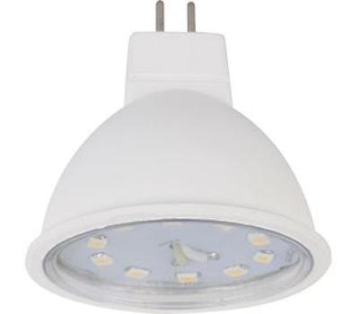 Ecola Light MR16   LED  5,0W 220V GU5.3 4200K прозрачное стекло (композит) 48x50 Истра