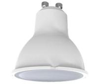 Ecola Light Reflector GU10  LED  5,0W 220V GU10 4200K матовое стекло 58х50 Истра
