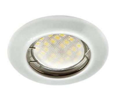 Ecola Light MR16 DL92 GU5.3 Светильник встр. выпуклый Перламутровое серебро 30x80 Истра