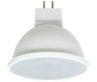 Ecola MR16   LED Premium  7,0W  220V GU5.3 6000K матовое стекло (композит) 48x50 Истра