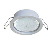 Ecola GX53 PD Светильник Встраиваемый глубокий легкий Белый 31x95 Истра