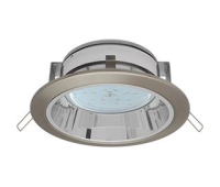 Встраиваемый потолочныйсветильник-спот Ecola GX53 H2R.C рефлектором. Сатин-Хром. Истра