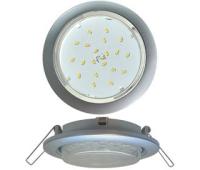 Ecola GX53 5355 Встраиваемый Легкий Серебро (светильник) 25x106 Истра