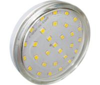 Ecola Light GX53 LED  6.0W Tablet 220V 4200K 27x75 прозрачное стекло 30000h Истра