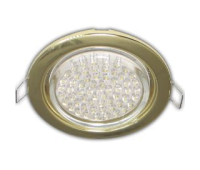 Ecola GX53 H4 Downlight without reflector_gold (светильник) 38x106 - 10 pack(0мб/2/3/4) Истра